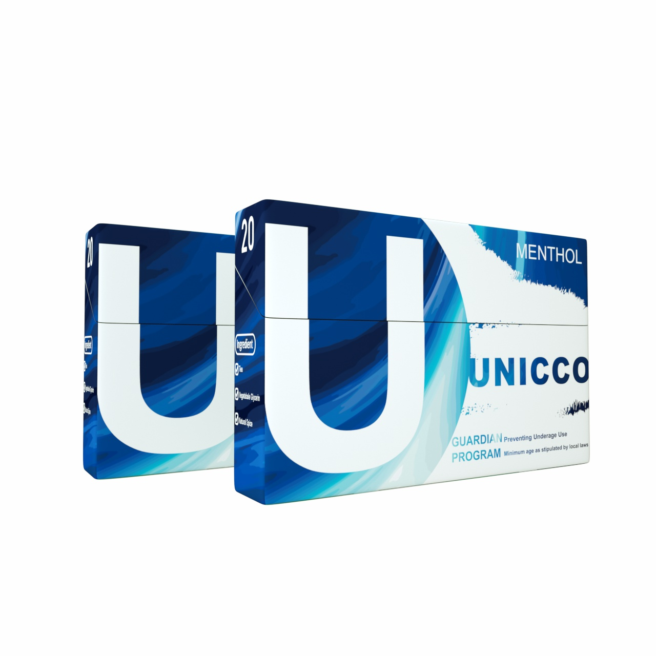UNICCO-HEAT NOT BURN STICKS-MENTHOL