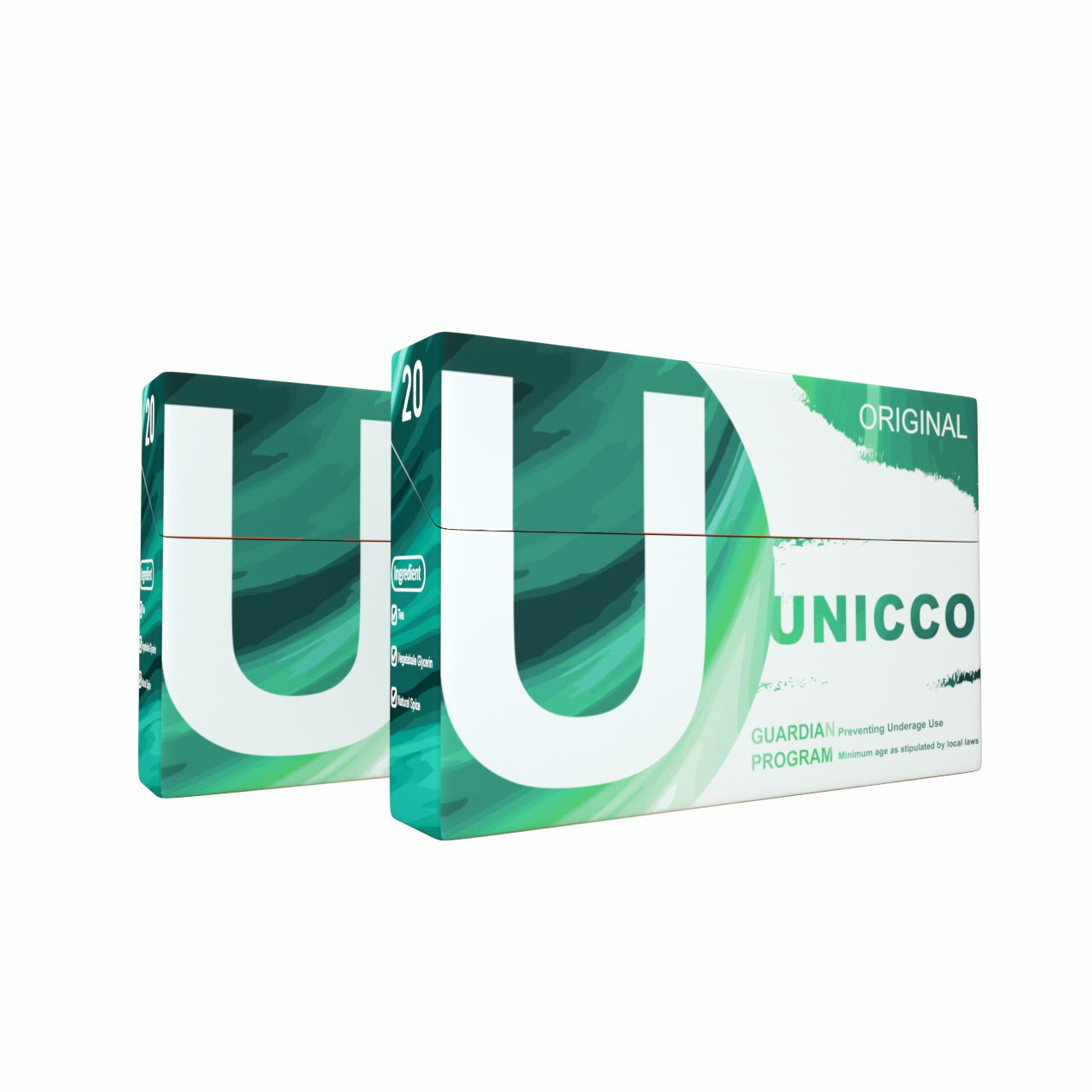 UNICCO-HEAT NOT BURN-HERBAL STICKS-TOBACCO LIKE FLAVOR-ORIGINAL