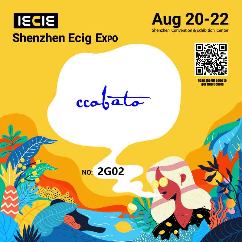 CCOBATO to present at IECIE Ecig Expo in Shenzhen on Aug 20-22th
