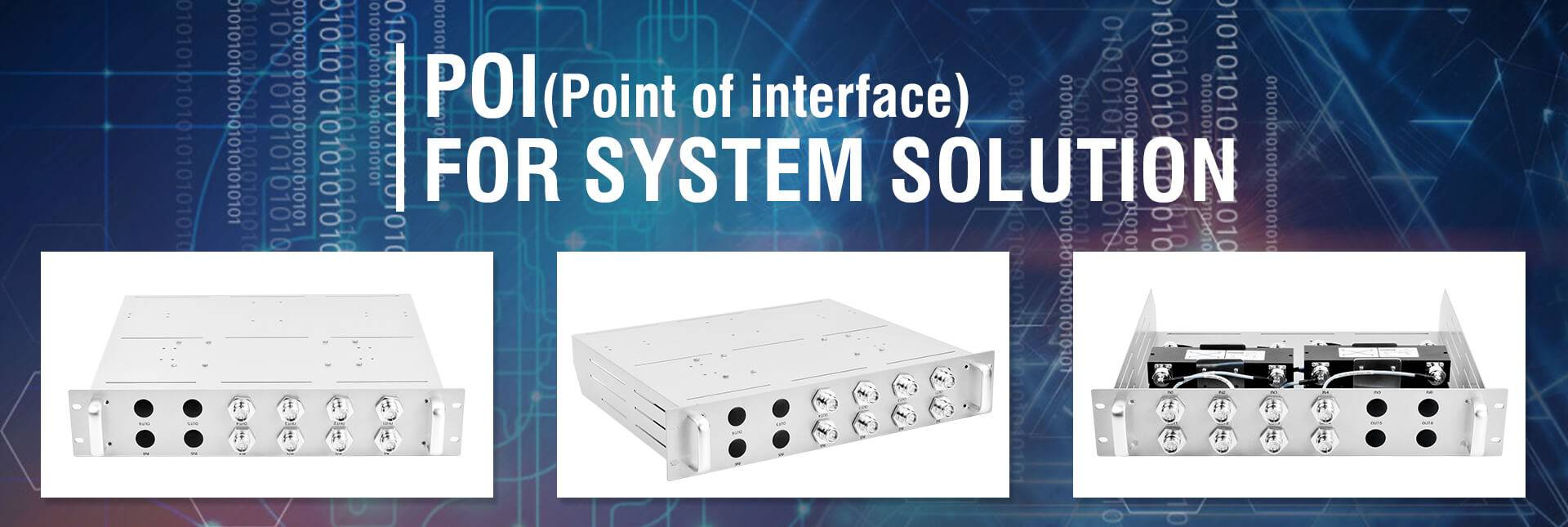 Jingxin POI for system solution