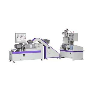 Pipinka Kneader + Single-dabaru extrusion Pelletizer