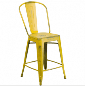 Restaurant Metal Dining Chair