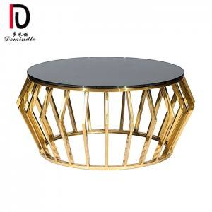 Free sample for Bride And Groom Cake Table - Modern  Round Coffee Table   – Dominate