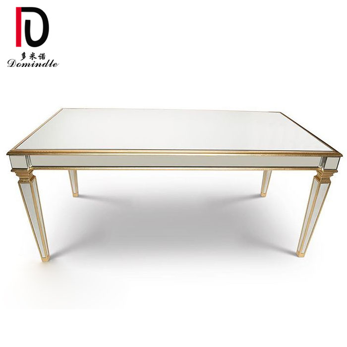 China China Factory For Gold Stainless Steel Table Wedding Use
