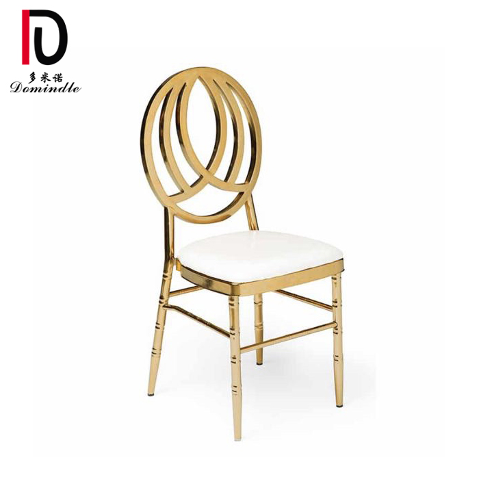 Chinese Professional Elegant Wedding Chair - Bellini wedding gold dining chair – Dominate