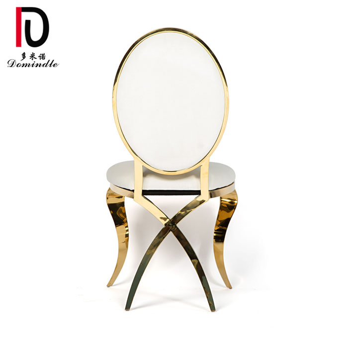 China New Product Stackable Wedding Event Chair - Stainless steel Annabelle dining chair – Dominate