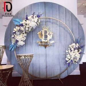 Circle Dcoration Wedding Backdrop