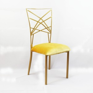 Gold Wedding chameleon Chair