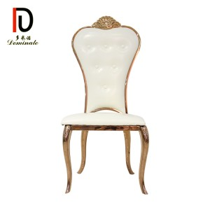 Best quality Rose Gold Wedding Chair - Crown dining chair – Dominate