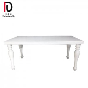 Factory Cheap Hot Mdf Wedding Table - Modern white wedding table – Dominate