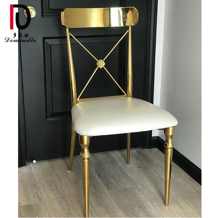 Wholesale Discount Stacking Banquet Chair - Wedding design Rococo dining chair – Dominate