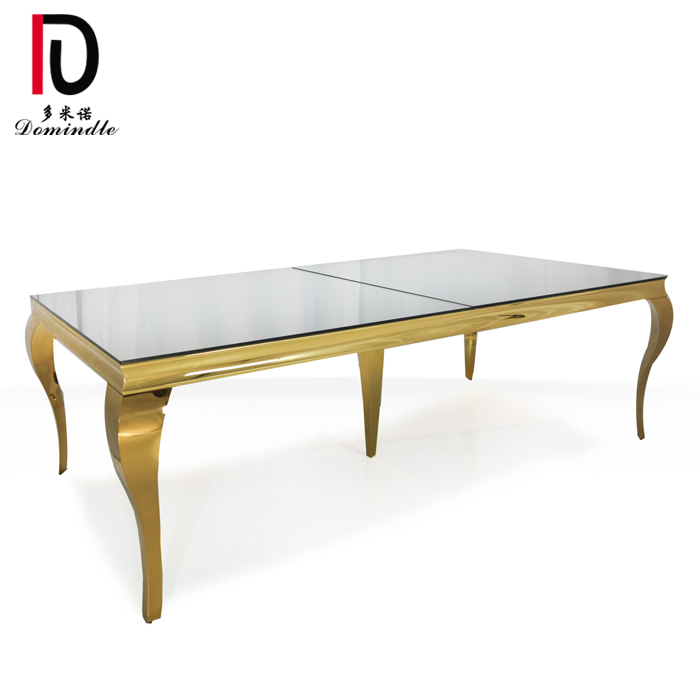 Newly Arrival Modern Event Table - Modern wedding furniture dining table – Dominate