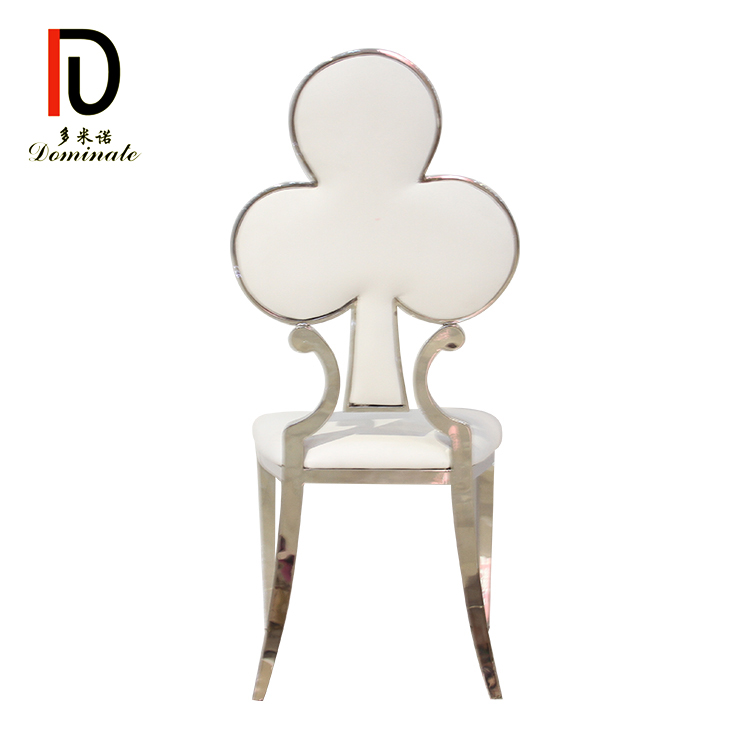 Hot-selling Gold Stacking Wedding Chair - Stainless steel blossom event dining chair – Dominate