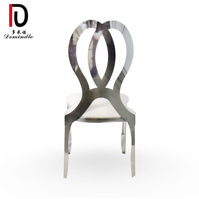China Gold Supplier for Gold Stainless Steel Event Chair - 3. popular infinity dining wedding chair – Dominate Featured Image