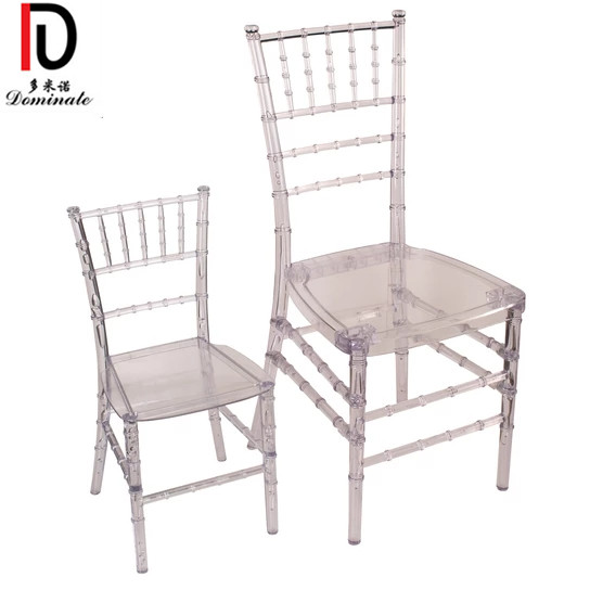 China factory stackable children party chair/kid plastic party chair/kids resin tiffany chiavari chair China