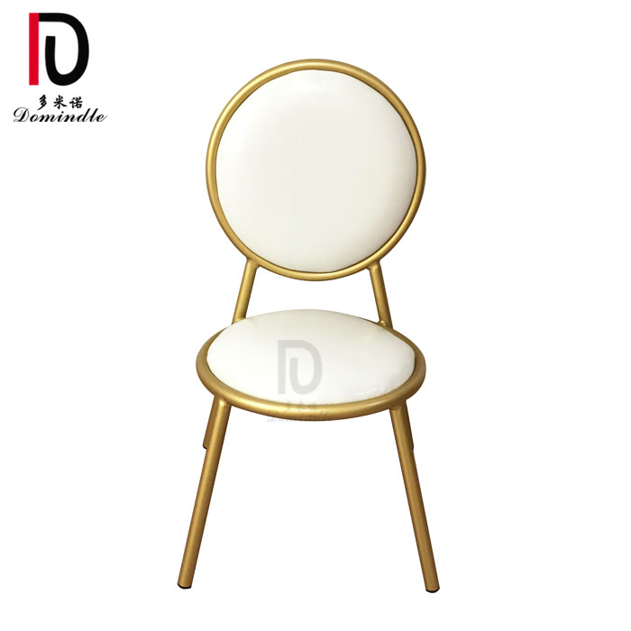 royal new design style modern event rental wedding iron stacking chair