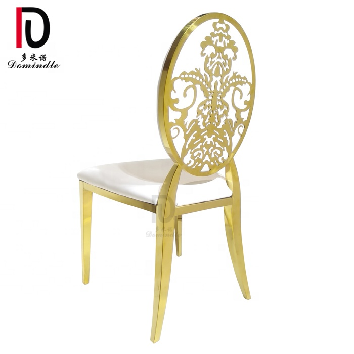 Wedding Furniture for Reception Dining New Design Stainless Steel Chair