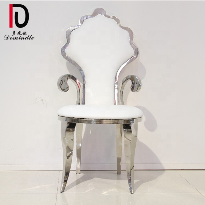 Dominate furniture bride and groom used reception king throne chair wedding