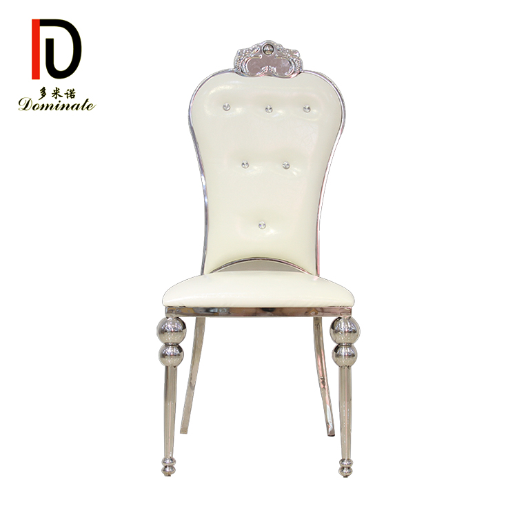 Manufacturer for Rental Wedding Chair - Imperial stainless steel wedding chair – Dominate Featured Image