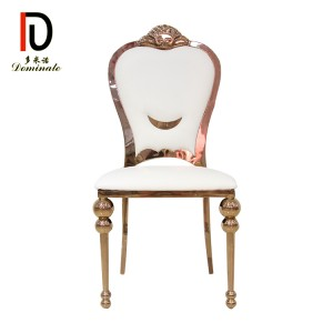 King modern dining wedding chair
