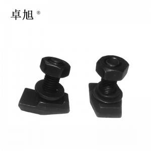 T Type Elevator Guide Rail Clip, Elevator Forged Rail Clip T1 T2 T3 T4 T5