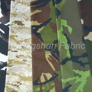 Cotton-PES-wife Military Camo