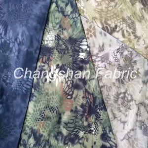 Factory made hot-sale Cotton/Spandex Dyed Enzyme Wash Jeans Fabric - TC65*65 Disperse&pigment  Fabric – Changshanfabric