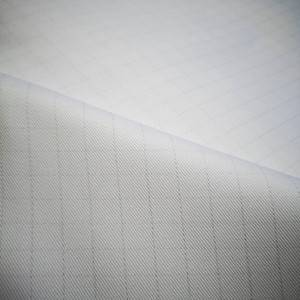 Cotton/polyester CVC Antistatic workwear fabric