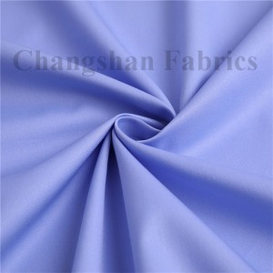China Supplier Cotton Teflon Workwear Fabric - CVC & Cotton Uniform Fabric with Anti-wrinkle For Shirt – Changshanfabric