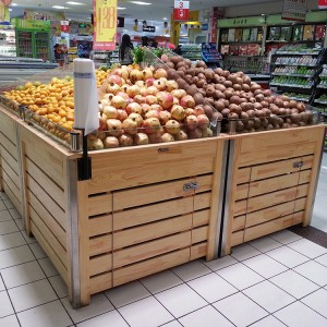 good price Supermarket produce fruit & vegetable display rack