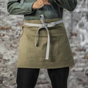 2020 China New Design Canvas Bib Apron - Army Green Color Canvas Waist Chef Apron With Pockets CU378S042022U4 – CHECKEDOUT
