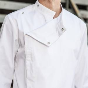 Professional Design Chef Clothing Manufacturer - Classic Single Breasted Long Sleeve Chef Jacket For Hotel And Restaurant CU109C0200C – CHECKEDOUT