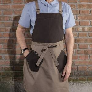 Factory Outlets Chef Cap And Apron - KITCHEN CANVAS BIB H BACK CHEF APRON WITH POCKETS U3062S037049U – CHECKEDOUT