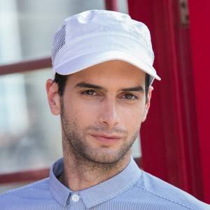 Restaurant Waiter Chef Poly Cotton Baseball Cap U411S0200B