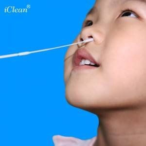 iClean® Nasopharyngeal Nylon Flocked Swab Specimen Collection Swab Medical Swab Sterile Swab