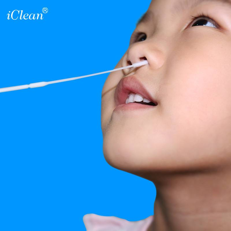 iClean® Nasopharyngeal Nylon Flocked Swab Specimen Collection Swab Medical Swab Sterile Swab Featured Image