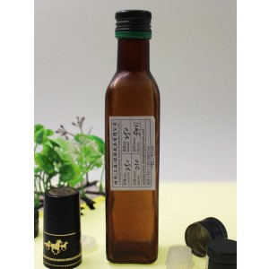250ml Square Glass Olive Oil Bottle