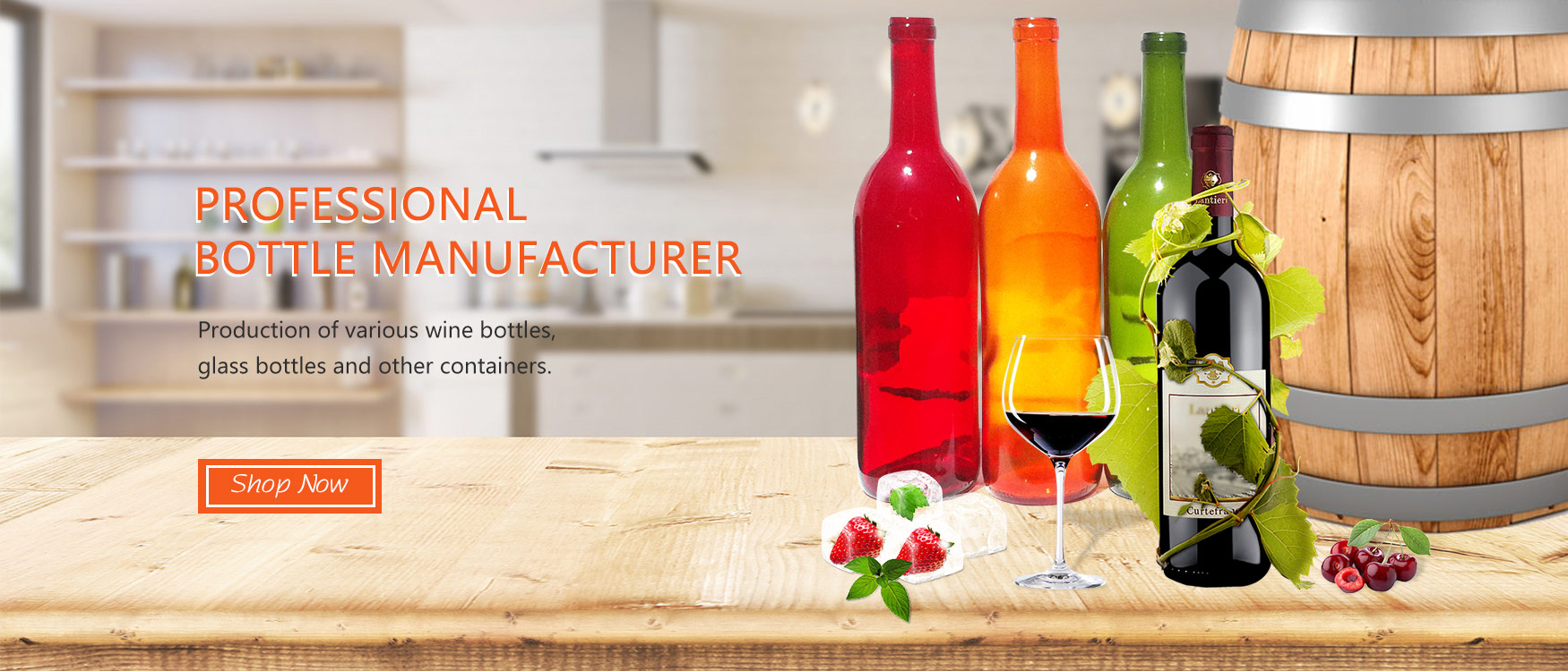 Professional  bottle manufacturer