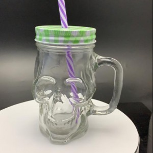 500ml Halloween Gift Glass Jars For Home Decoration/Storage/Dry Tea/Candy