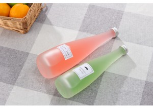 Factory wholesale glass mineral water juice beer bottle 330ml