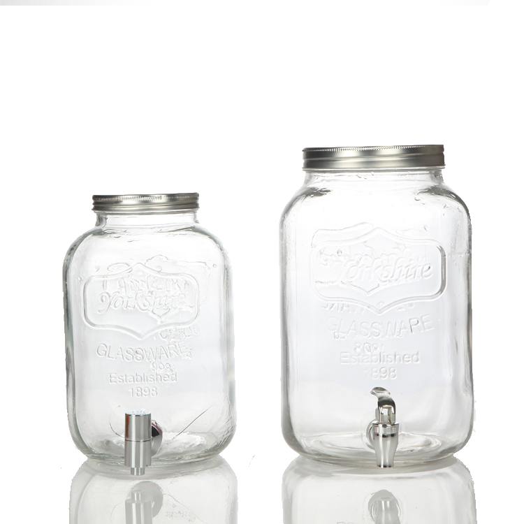 Linlang hotselling big enzymes glass jar for water