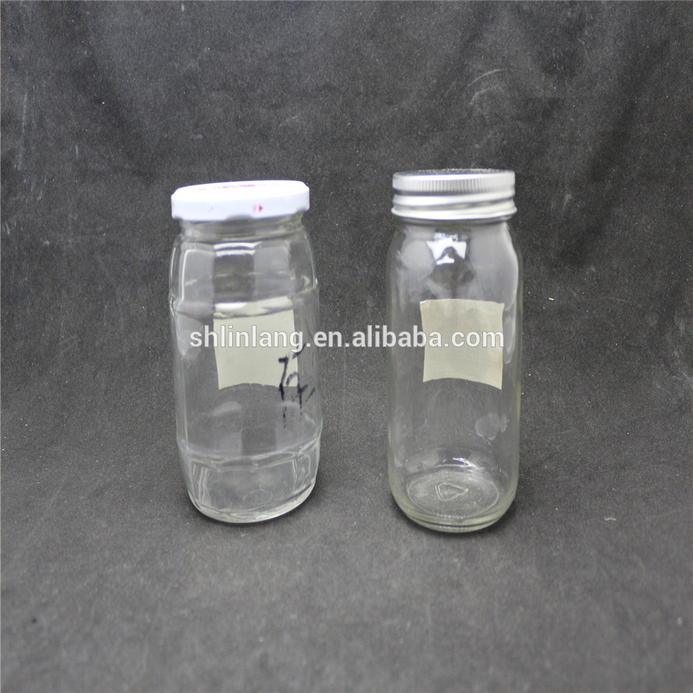 Linlang hot welcomed glass products,glass jar for food