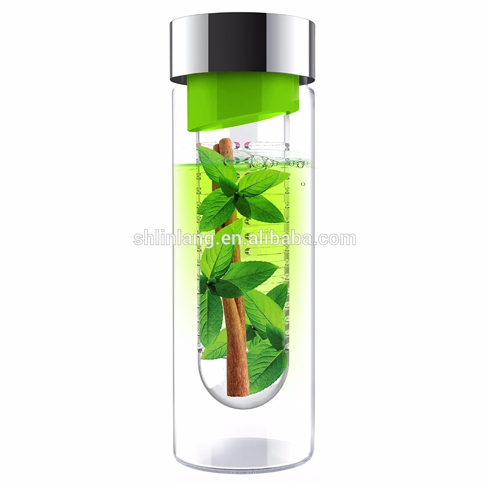 Linlang hot sale glass products fruit bottle
