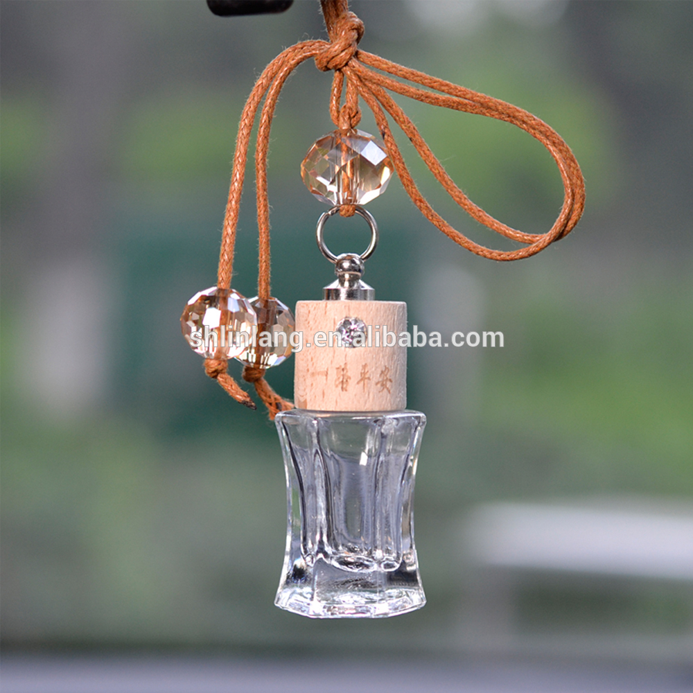 shanghai linlang 10ml Hanging car fragrance bottle for air freshener