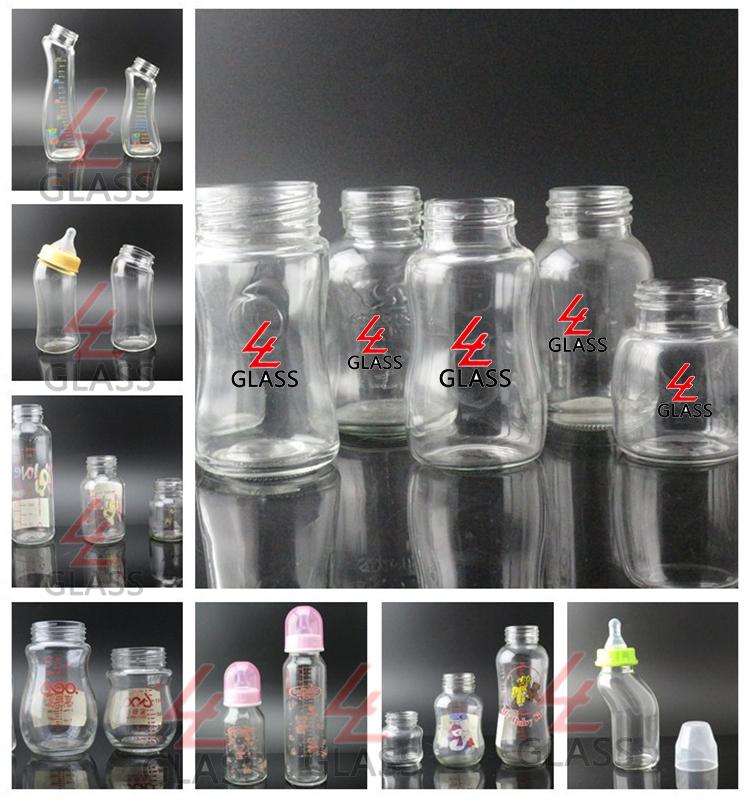 Shanghai Linlang crystal glass water bottle baby bottle feeding bottle