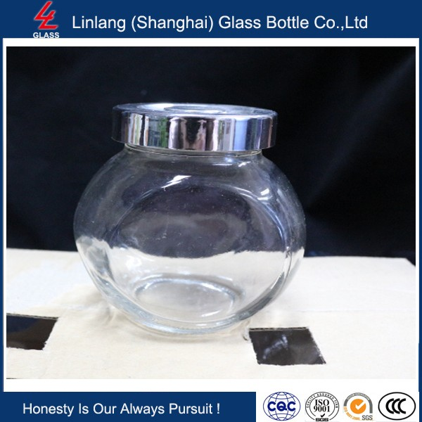 Linlang welcomed glassware products apothecary glass jar