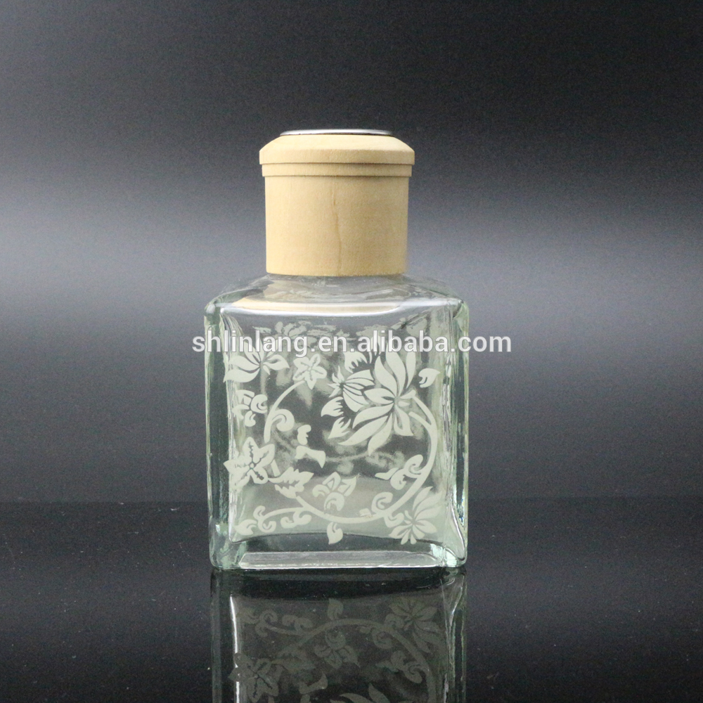 shanghai linlang empty reed diffuser glass bottle perfume diffuser bottle
