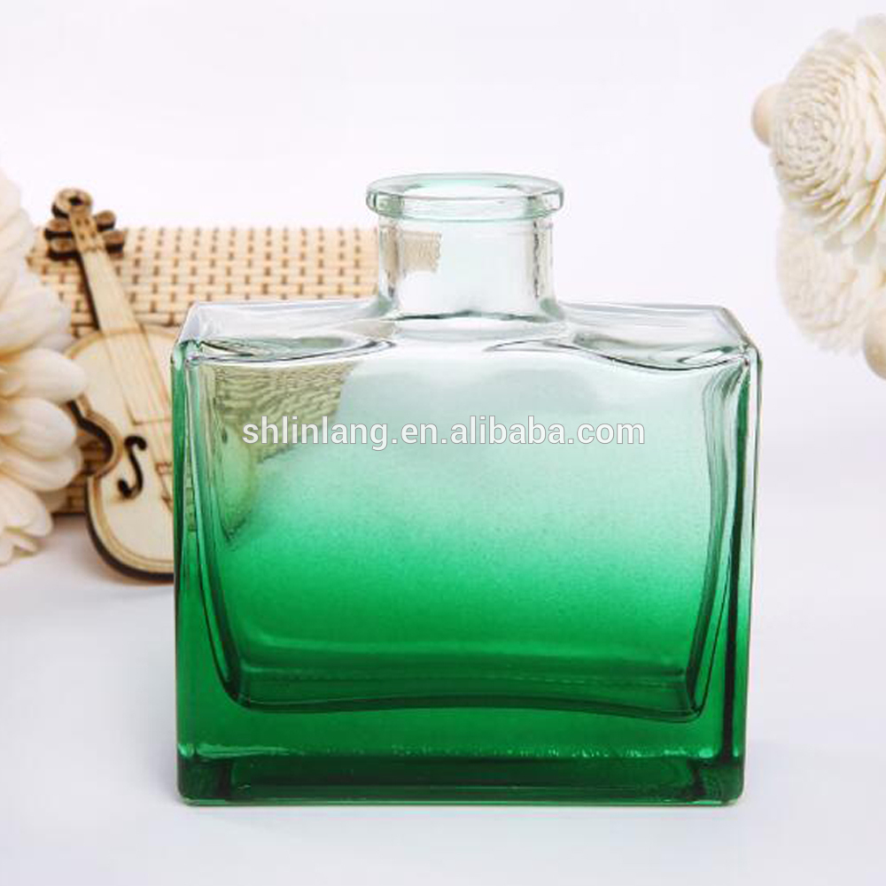 shanghai linlang 100ml 120ml Glass Reed Diffuser Bottle Empty