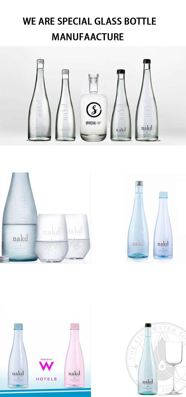 glass beverage bottles wholesale 16oz sparkling drink bottle