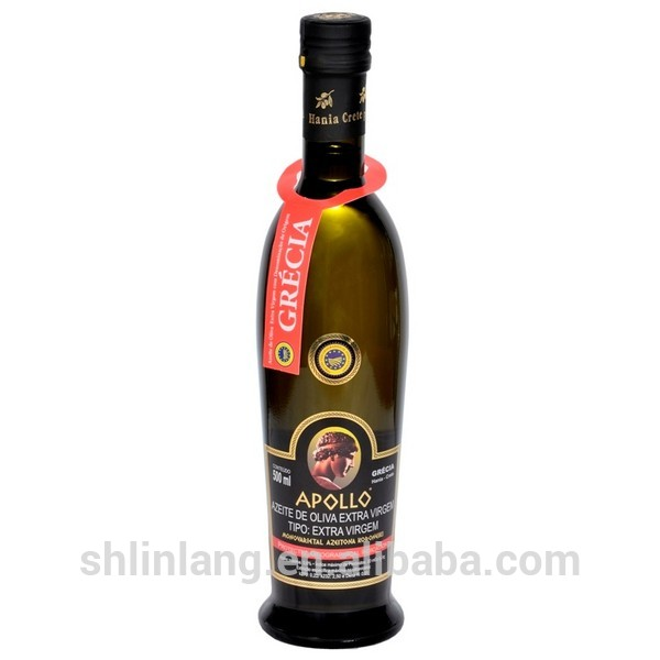Shanghai linlang manufacture 500ml Amforic empty bottle for olive oil